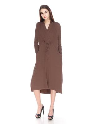 Платье коричневое | 3667601