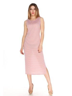 Сукня рожева в смужку | 4173489