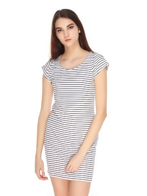 Сукня біла в смужку | 3351471