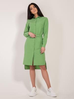 Платье зеленое | 4187647