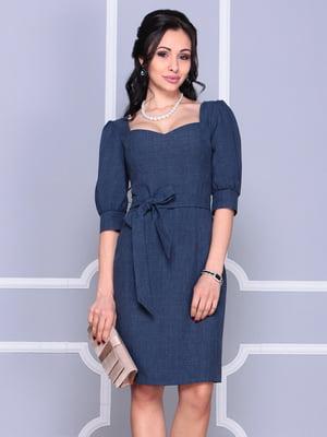 Платье темно-синее | 4186807