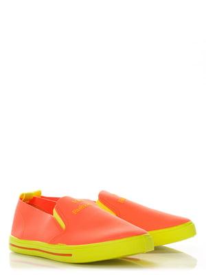 Слипоны оранжевые | 3495100