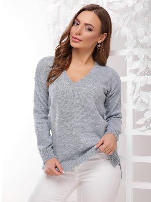 Пуловер світло-сірий   4189720