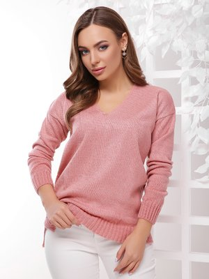 Пуловер розовый | 4189721