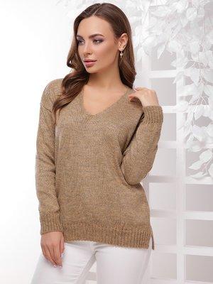 Пуловер золотистый | 4189723