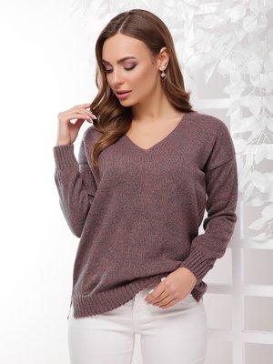 Пуловер лілового кольору | 4189724