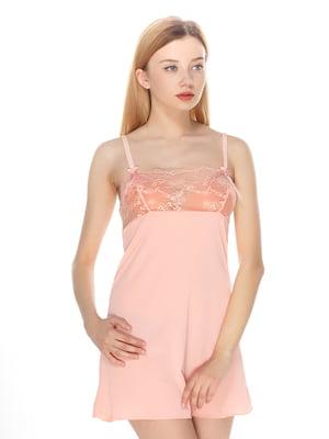 Сорочка нічна рожева | 2706791