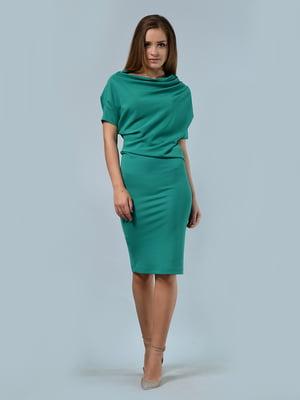Платье бирюзовое | 4170075