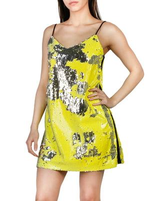 Сукня лаймового кольору | 4155573