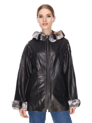 Куртка чорно-сіра - Gessada - 4191419