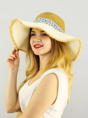 Шляпа бежевая | 4192518