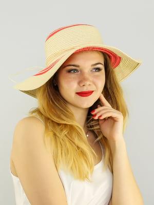 Шляпа бежевая | 4192529