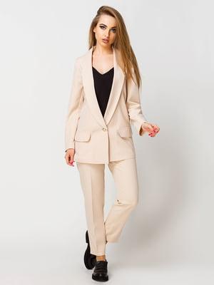 Костюм: жакет и брюки | 4192843