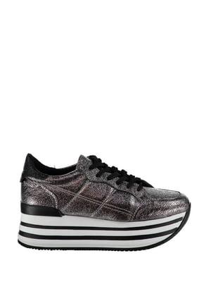 Кросівки відтінку платини | 4193940