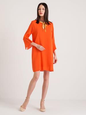 Платье оранжевое | 4194672