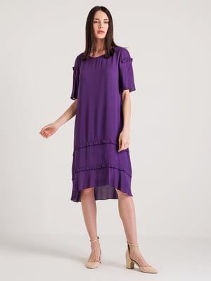 Платье фиолетовое | 4194688