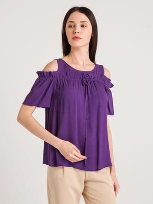 Блуза фиолетовая | 4194689