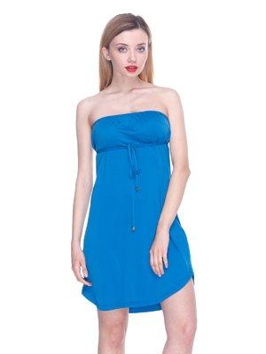 Платье синее | 3358691