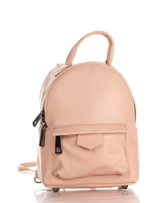 Рюкзак пудрового кольору | 4176006