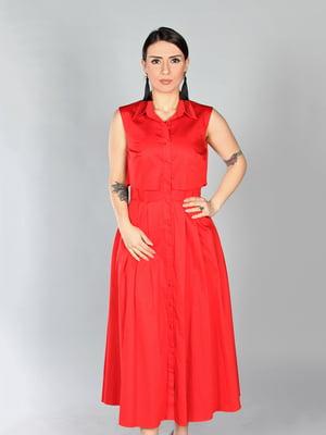 Платье красное | 4197256