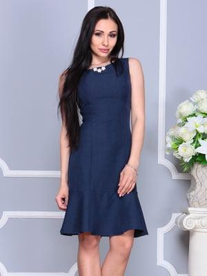 Сукня темно-синя | 4201137