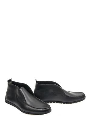 Ботинки черные   4201504