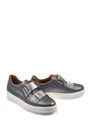 Туфли серебристые | 4201510