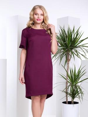 Платье бордовое | 4201858