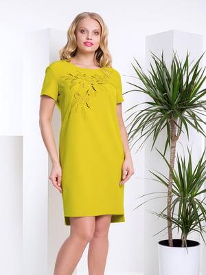 Сукня оливкового кольору | 4201860
