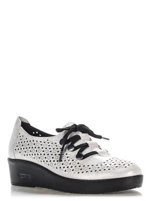 Туфлі сріблясті | 4185647