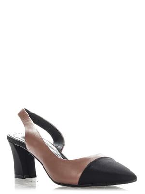 Туфли двухцветные | 4185704
