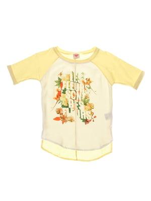 Блуза желтая | 4191681