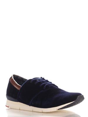 Кроссовки темно-синие | 4194974