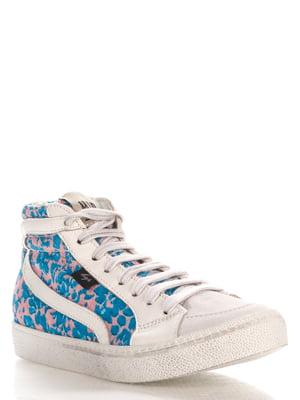 Кеды бело-голубые | 4194980
