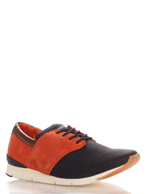 Кроссовки черно-оранжевые | 4194975