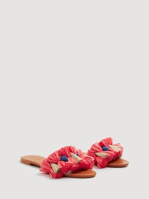 Шлепанцы розовые | 4166533