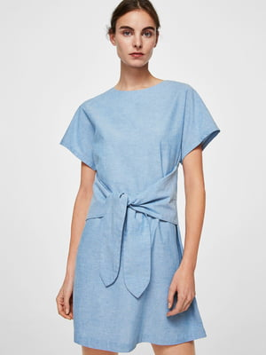 Платье голубое | 4009361