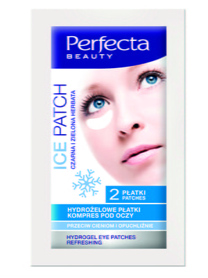 Маска-патч для шкіри під очима освіжаюча гідрогелева (2 шт).   4203176