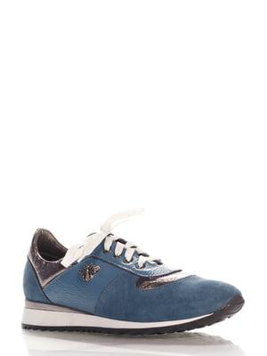 Кроссовки голубые | 4202569