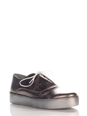 Туфли серебристые | 4202575