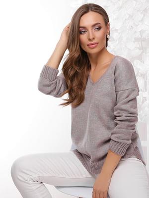 Пуловер світло-бузковий | 4202944