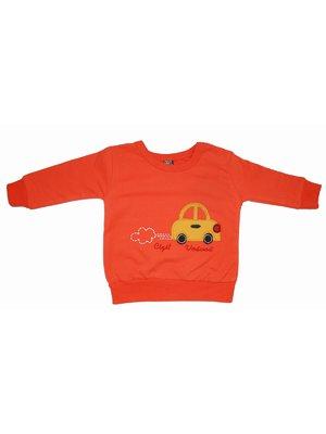 Свитшот оранжевый с начесом   4204063