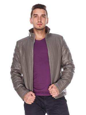 Куртка сіра | 4203732