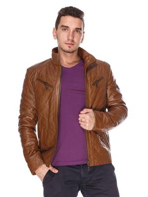 Куртка коричнева | 4203731