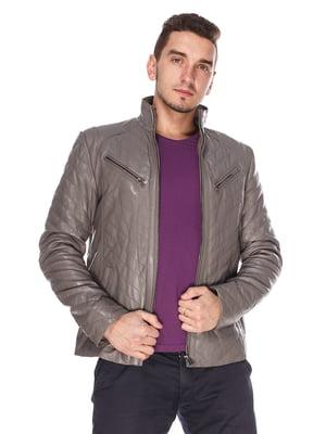 Куртка сіра | 4203729