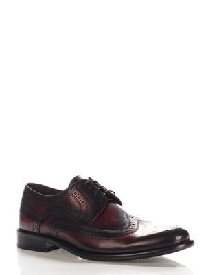Туфли темно-коричневые | 4202540