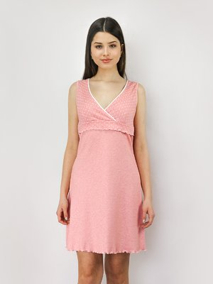 Рубашка ночная розовая   4093231