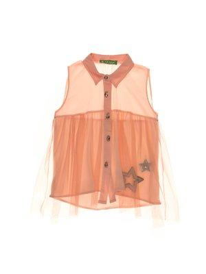 Блуза персикового цвета | 4203425