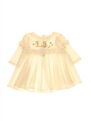Платье бежевое | 3742120