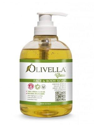 Мыло жидкое для лица и тела на основе оливкового масла (300 мл) | 4210734